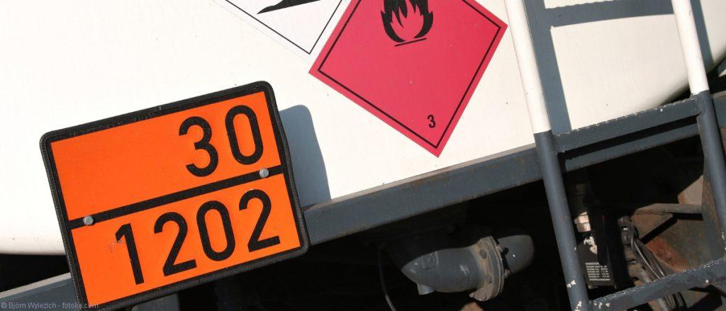Warntafeln Straßenfahrzeuge