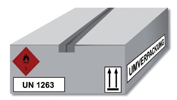 Safety Xperts - Beispiel einer Umverpackung