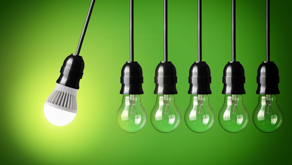 Umstieg auf LED-Beleuchtung
