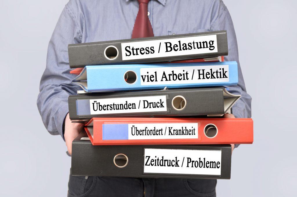 Psychische Belastung am Arbeitsplatz
