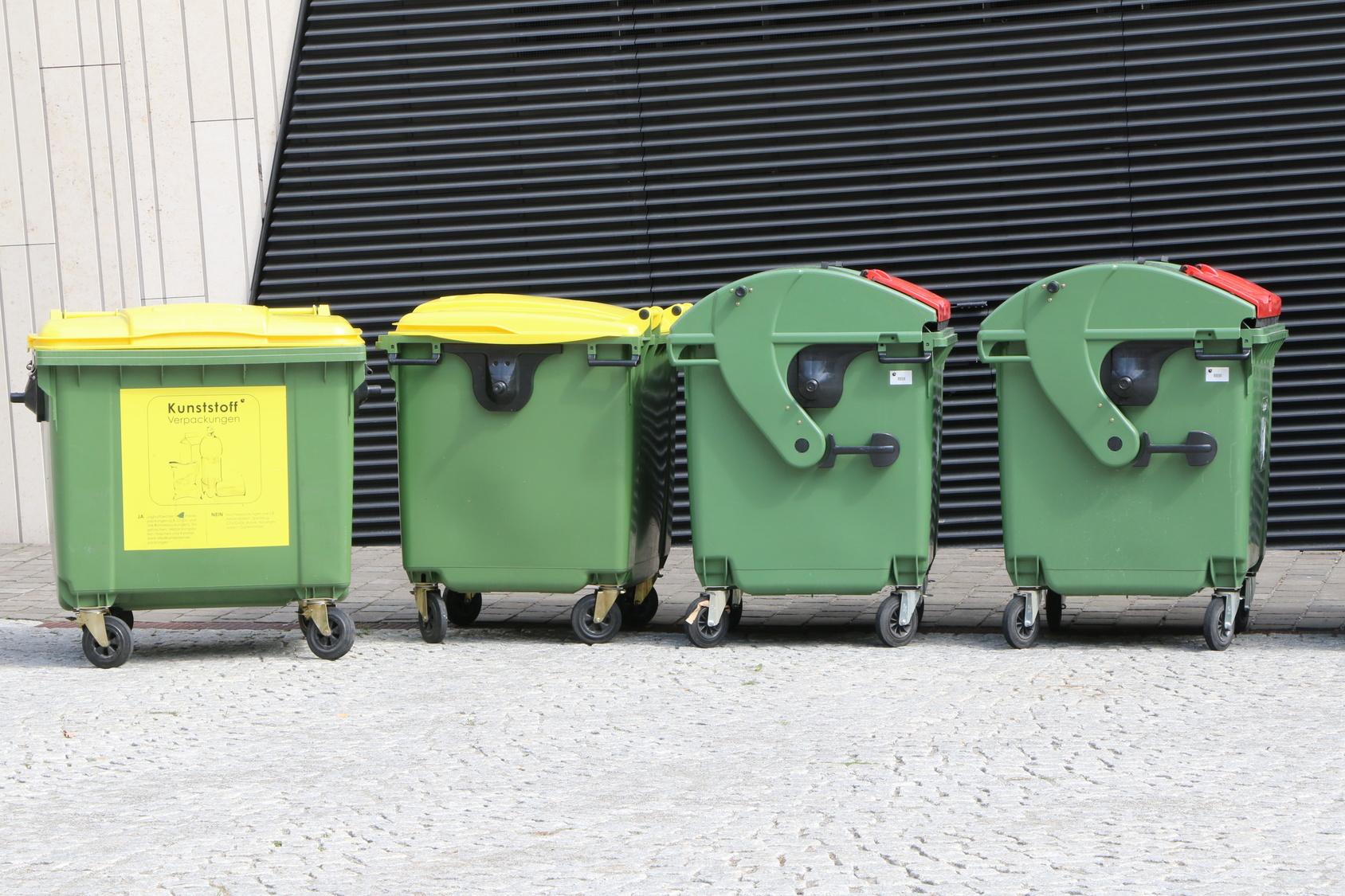 Abfallsammelstellen: So werden sie effizient gestaltet