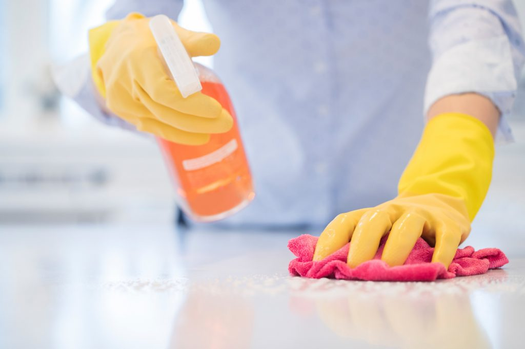 Diese Desinfektionsmittel sind in jeder Einrichtung erforderlich