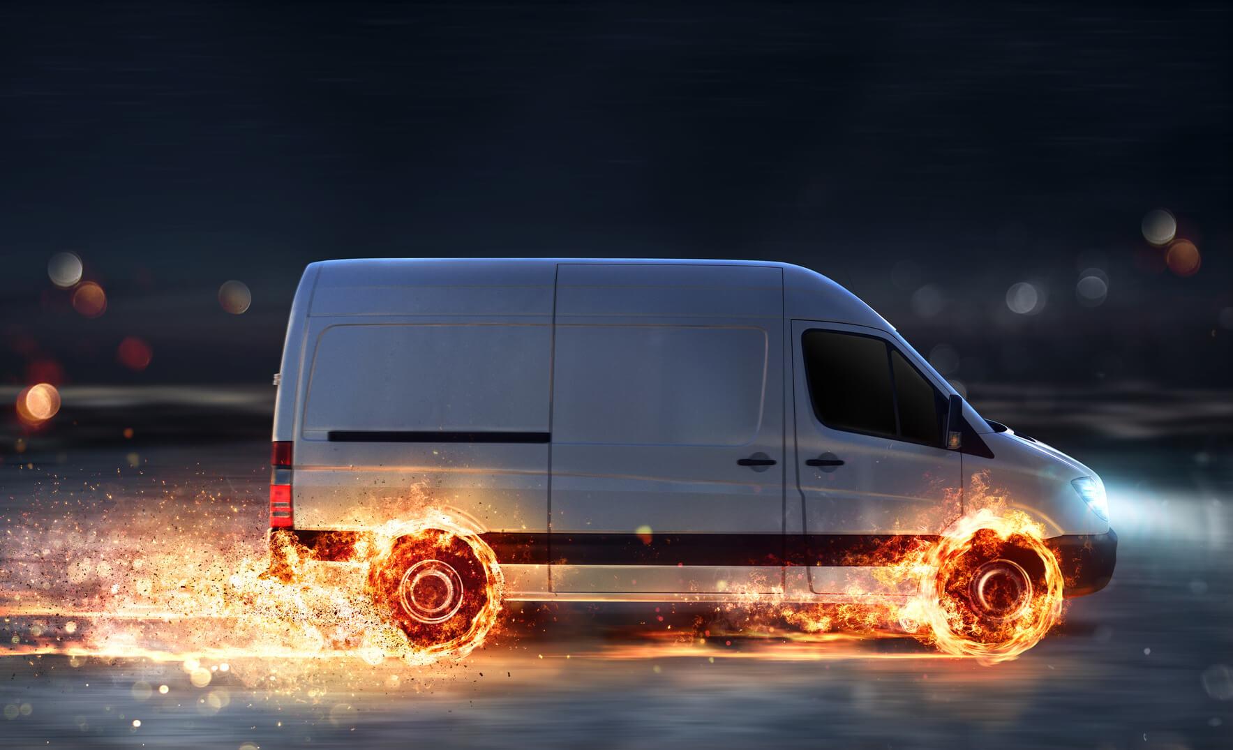 Hitzewellen können zu Reifenbrand führen