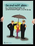 """Poster: """"Sicherheitsbeauftragte sind für Sie da"""""""