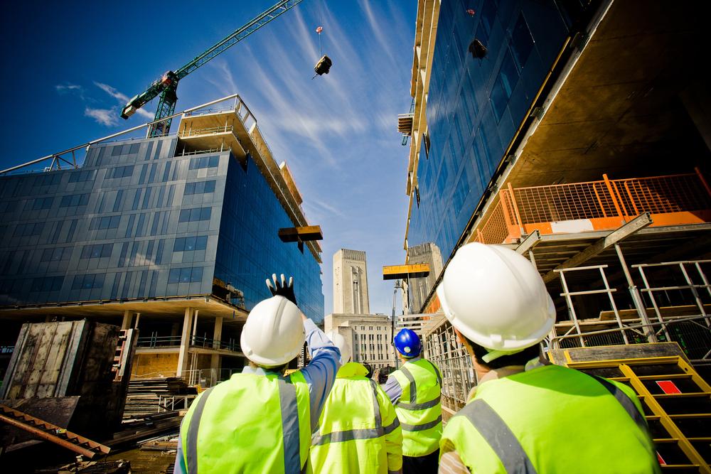 Arbeitsschutz auf Baustellen