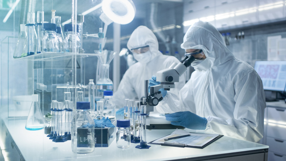 Arbeitsschutz im Labor, Viren, Bakterien
