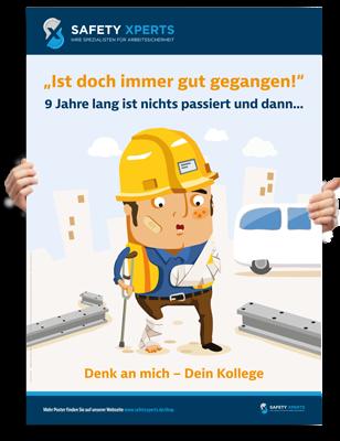 "Poster: ""Arbeitsunfall"""