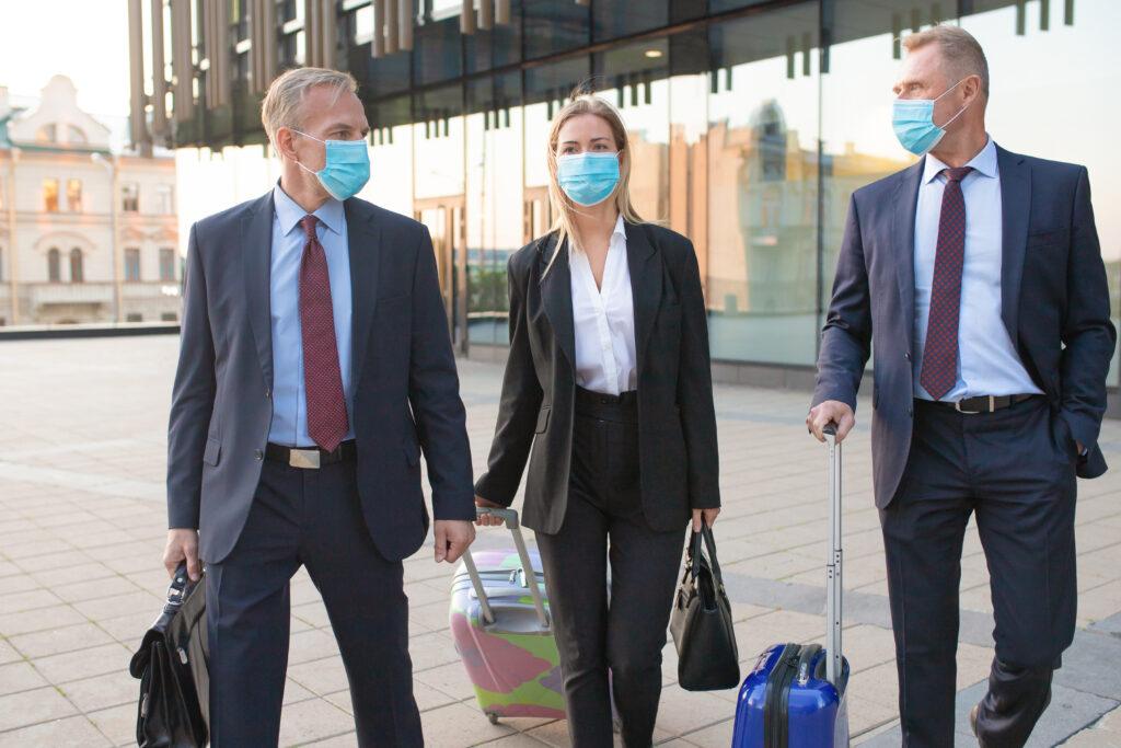 Coronavirus, Corona, Pandemie, Business Trip
