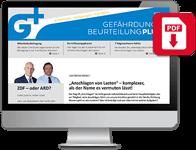 Gefährdungsbeurteilung Plus Online