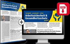 Kombipaket: Arbeitssicherheit und Gesundheitsschutz aktuell